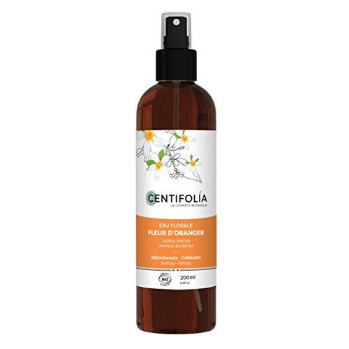 CENTIFOLIA - Bio-Orangenblüten-Hydrosol - Spannend, erfrischend und beruhigend - Für trockene Haut - Beruhigende und entspannende Eigenschaften - Alkoholfrei - Vegan - 200 ml