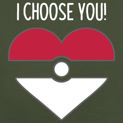 I Choose You - Herren T-Shirt - 13 Farben Olivgrün