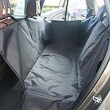 Auto Sedile Posteriore Mat per I Cani di Boot Liner Paraurti Protezione Universale per Tutti I Tipi di Auto Sedile Posteriore Car Boot Protector Cover Impermeabile 130 * 150 * 55Cm,Gray