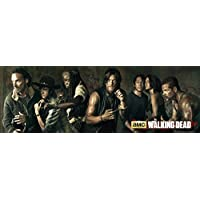 GB eye Puerta Poster con diseño The Walking Dead Season 5, Papel, 53 x 158 cm
