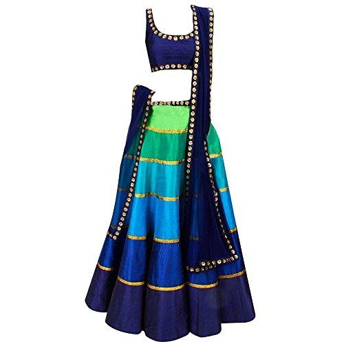 S R Fashion Just Launch Lehenga Choli For Girls_Ghaghara Choli_Chaniya Choli_Lehenga_(8-11Years) RKLC
