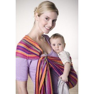 Fascia porta bebè Ring Sling Lollipop -...