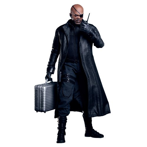 """Avengers Nick Fury 12"""" 1:6 Scale Figure By Hot Toys"""