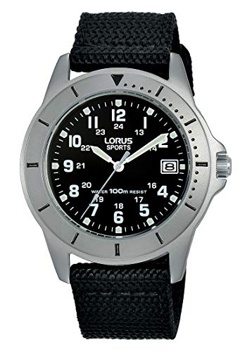 Lorus Womens Analogue Quartz Watch with Nylon Strap RS935DX9 Best Price and Cheapest