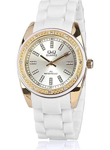 Q&Q Regular Analog Gold Dial Women's Watch - GQ13J010Y image