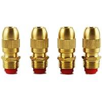 Global Brands Online 1/2 (DN15) Ajustable Cobre Bullet Boquilla Spray Niebla Enfriamiento Roof Garden Lawn Rociador de riego