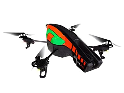 Parrot AR.Drone 2.0 with Outdoor Hull (Orange/ Green)