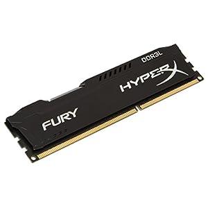 HyperX FURY Memoria da 8 GB, 1866 MHz, DDR3L CL11 DIMM 240-pin, 1.35 V, Nero