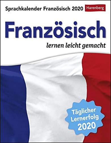 Sprachkalender Französisch Kalender 2020: Französisch lernen leicht gemacht