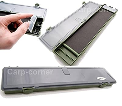 Carp Fishing Rig Safe Case Tackle Box Hook Storage Single System by NGT