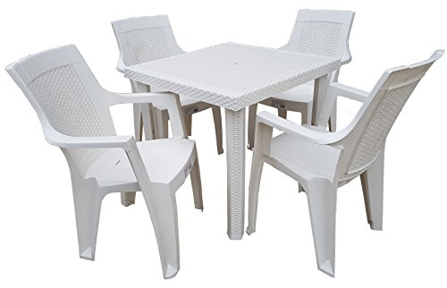 Tavoli E Sedie In Plastica Per Bambini.Colore Bianco Base In Acciaio Buschman Mobili Per Bambini Tavolo E