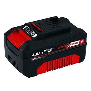 Original Einhell System Akku Power X-Change (Lithium Ionen Akku, 18 V, 4,0 Ah, passend für alle Power X-Change Geräte)