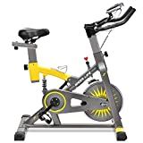 iDeer Life Exercise Bike, Indoor Cycling Bike, Smooth & Quiet Stationary Spin Bike