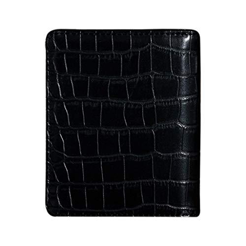 FBGood Männer Mode Alligator Geldbörse Diebstahlschutzbürste Geldbeutel Multi Kartenposition Brieftasche Geld Clip Münztüte ID Kreditkarte Paket Freizeit Portmonee -