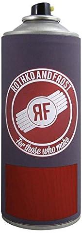 Dartfords getöntes Gitarre Nitrocellulose Lack (Bernstein, 1Liter Dose) 400 ml Aerosol Spray Can Red (Heritage Cherry)