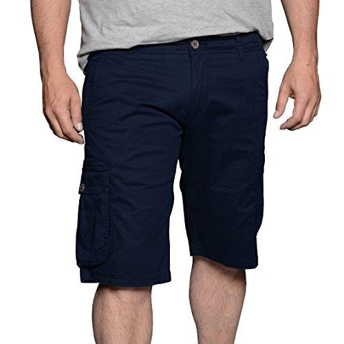 Kashmir Herren Shorts Blau (Navy Blue 0580)