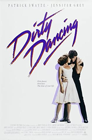 DIRTY DANCING MOVIE POSTER PRINT APPROX SIZE 12X8 INCHES