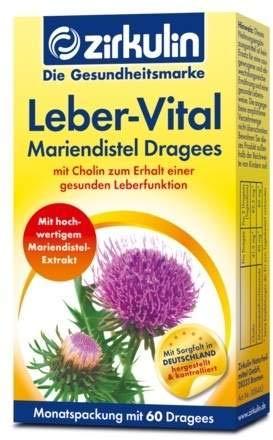 Zirkulin Leber-vital Mariendistel Dragees 60 stk