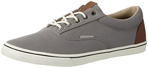 JACK & JONES Jfwvision Mixed Grey, Sneakers Basses Homme, Gris (Frost Gray), 42 EU