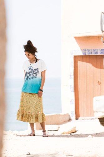 Maloja t-shirt dorcasm Turquoise - aqua