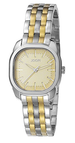 Joop! Damen-Armbanduhr Two Colours Analog Quarz Edelstahl beschichtet JP101832004
