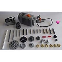 LEGO® TECHNIC 37-pieza kit de motor con los accesorios. Dado un corazón Lego®