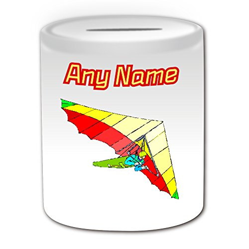 personalised-gift-hang-gliding-money-box-sport-and-hobby-design-theme-white-any-name-message-on-your
