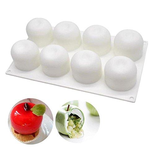 Silikon Mousse Form Apple Für Halloween Weihnachten Kuchen Trüffel Gelee Desserts DIY Backenwerkzeuge