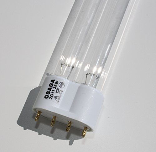 UV-C Leuchte Lampe Röhre 36 W PL 2G11 (Garten-oase Sockel)