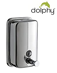 DOLPHY STAINLESS STEEL LIQUID SOAP DISPENSER-500 ML