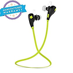 5g Gold Sony Xperia M2 Aqua Compatible Wireless Bluetooth 4.1 Stereo Sport Headphones With AptX Hi-Fi Sound Hands-free Calling Built-in Mic(Assorted Color)
