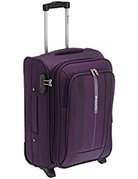 Safari Revv Polyester 55 cms Purple Softsided Carry-On (Revv-55-Purple-2wh)