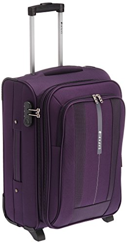Safari Revv Polyester 55 cms Purple Softsided Carry-On (Revv-55-Purple-2wh)