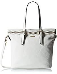 Gussaci Italy Women's Handbag (White) (GUS059)
