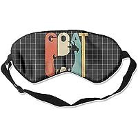 Vintage Style Goat Silhouette 99% Eyeshade Blinders Sleeping Eye Patch Eye Mask Blindfold For Travel Insomnia... preisvergleich bei billige-tabletten.eu