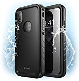 Clayco Coque iPhone XR 6,1'', Coque Étanche de Protection Intégrale Robuste...