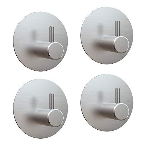 LEBEXY Handtuchhaken Haken | selbstklebend handtuchhalter | Bad und Küche kleiderhaken | Edelstahl Wandhaken Geschirrtuchhalter