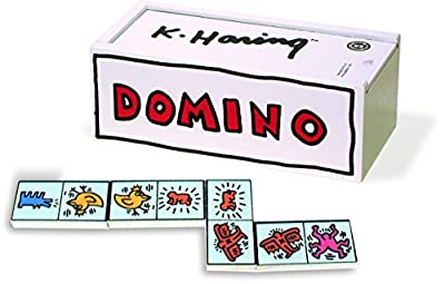 Vilac - 9265 - Domino Blanc - Keith Haring