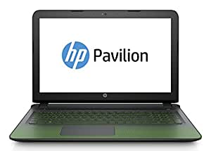 "HP Pavilion Gaming 15-ak112nl Notebook, Display FHD 15.6"", IPS, Processore Intel Core i7-6700HQ, RAM 8 GB, HDD 1 TB, Scheda Video NVIDIA GeForce GTX 950M, 4 GB, Nero/Verde"