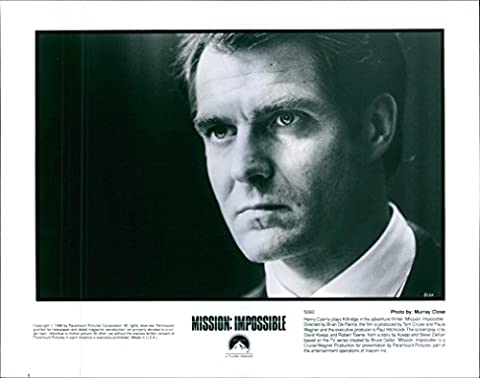 Vintage photo of Henry Czerny stars as Eugene Kittridge in a 1996 American action spy film,