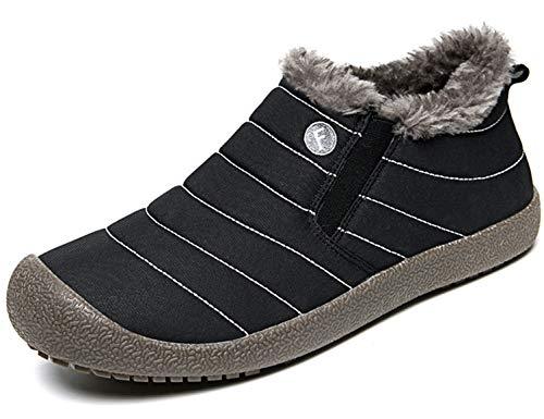 SINOES Hombres Botas de Senderismo Zapatos de Trekking resbaladizo Caminar Transpirable Zapati