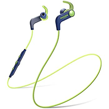 Koss BT190iB Wireless Bluetooth Portable Earbuds (3.5 mm Jack) for iMac/iPhone/iPad/iPod/Laptop/MP3 Players/Samsung/Smartphones - Blue