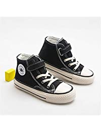 XL_etxiezi Zapatos Vintage para niños, Negro_25