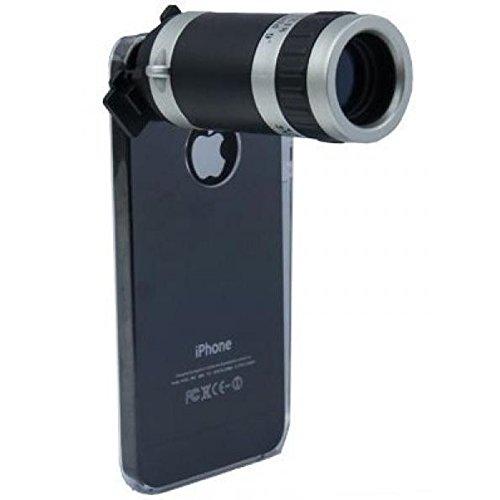 Tele-Objektiv, -Vorsatzlinse für Apple iPhone 5 / iPhone 5S