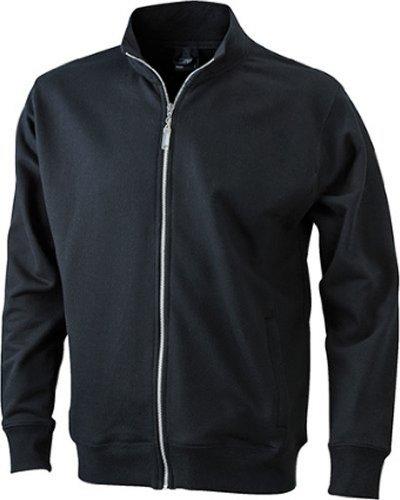J&N - klassische Herren Sweater-Jacke (JN046) Schwarz