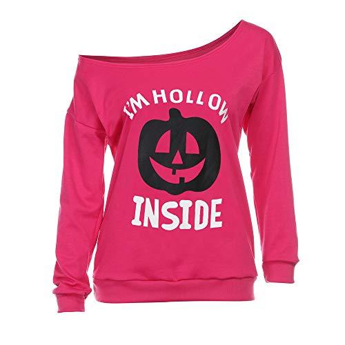 (Yesmile Damen Kapuzenpullover Damen Schulterfrei Sweatshirt Mode Langarmshirt Hoodie Langarm Pullover T-Shirt Sweatjacke)