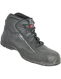 jallatte jalg Rammy SAS S1P Src Zapatos de trabajo business Guantes plano negro, color Negro, talla 39