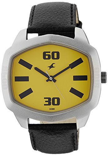 41pHPHBPeSL - 3119SL02 Fastrack Yellow Mens watch