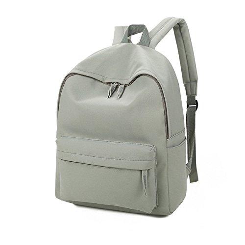 Lady Scrub Borsa In Pelle Di Spalla Scuola School Backpack Girl,Gray Gray