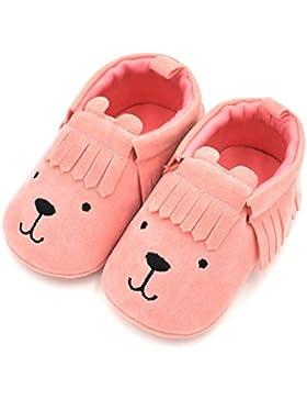 Baby schuhe,Sunyoyo Neugeborenes Baby Kleinkind Mädchen Jungen Niedlich Schuh Bär Tassle Weich Anti-Rutsch-Schuhe